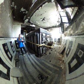 In spatele cuptorului - Crematoriul Cenusa