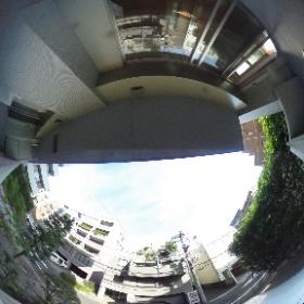 【番町レジデンス】 ②東向き眺望 360°画像 東京都千代田区六番町7-1 http://www.axel-home.com/005003.html  #theta360