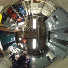 Riverview mechanical room #theta360