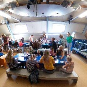 Knutselen kindercamping de Vergarde Gelderland
