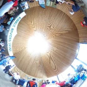 Official launch day for the Ribble Life Together project at Brockholes Nature Reserve. School children and members of the Ribble Life partnership experiencing just some of the things the project has to offer. A brilliant day! #theta360uk