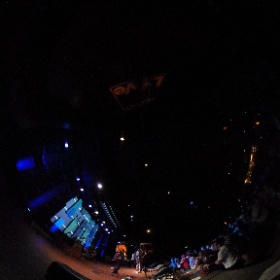 Queen of Jeans performing at the Beyond the Bars benefit at World Cafe Live in Philadelphia. Photo by Bob Sweeney. #theta360