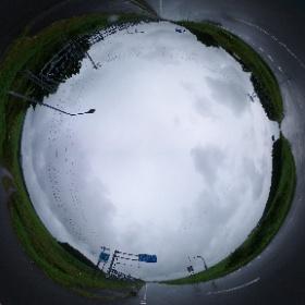 北海道Tour19夏#3 2019/8/10(土)開陽→札友内 北海道野付郡別海町泉川にて 道道13  #theta360