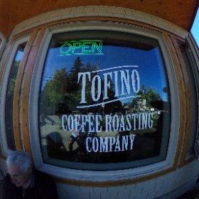 Cuppa joe in Tofino #theta360