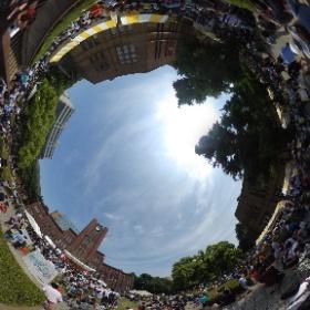 """東京大学本郷""""五月祭"""" #theta360"""