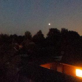 Mond Finsternis #theta360 #theta360de