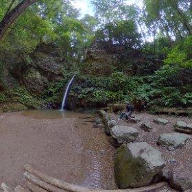 宿谷の滝 #theta360