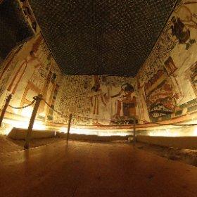 ネフェルタリ王妃の墓の360度写真 #theta360