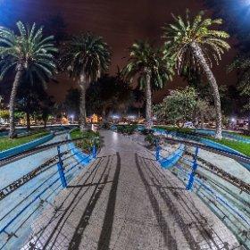 Puente Plaza de Armas, Ovalle. IV Región de Chile.