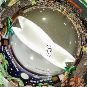 Issac 1st Birthday Party - www.ansonchew.com #ansonchew #anson360 #issac #birthdayparty #birthday #suntec #dinoparty #dino #theta360