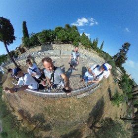 Con noi c'era anche Bebboy, esperto di foto a 360° mandato dalla Ricoh! #theta360