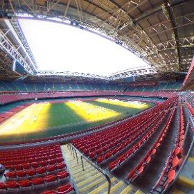 Cardiff Millennium Stadium #360selfie #theta360 #theta360uk