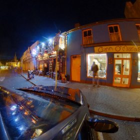 Night in Clifden #360TodayinGalway #butterfly3d #craicingalway #theta360 #theta360uk