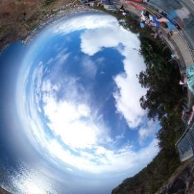 Madeira Cabo Girão Skywalk #Madeira #AIDAcara #theta360