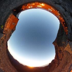 [絶景360]白出のコル  ほかにも、いろいろな絶景ポイントで撮影した 360°パノラマ写真(全天球写真)を公開しています。『事例s』サイトの「絶景360」(http://jilays.com/zek360-index)からご覧いただけます。