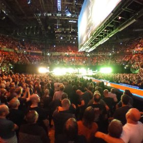 U2 Beautiful Day Manchester 20/10 360 shot #U2eiTour