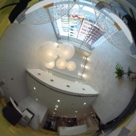 クロスオフィス新宿 エントランス #theta360