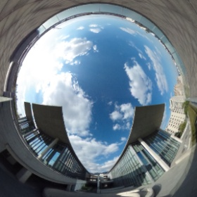 #RICOH #THETA #全天球写真 #兵庫県立美術館