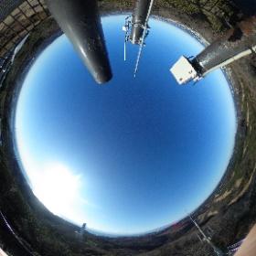 Okusuyama the highest mountain on Miura Penninsula 大楠山、三浦半島で一番高い山、冬は相模湾、関東平野から東京、東京湾、横浜、千葉、遠くはつくばまでみれますよー!  ドイツ式カイロプラクティック逗子整体院 www.zushi-seitai.com  #theta360
