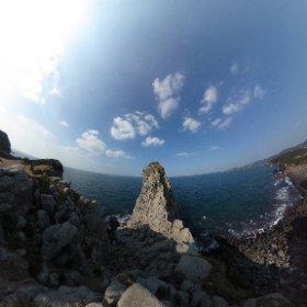 猿岩,壱岐島 #theta360