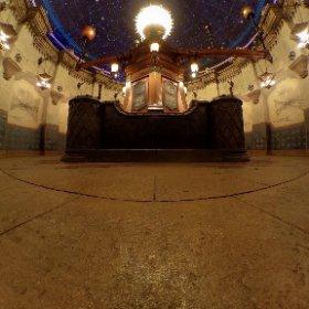 フォートレスエクスプロレーションのチェインバーオブプラネット。 この場所が好きな人、多いと思います。触って動かしてみてください⭐️ #theta360