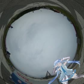 宗谷岬にて日本最北端ミクさん♪ #miku360 #theta360