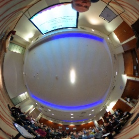 #360selfie of our wonderful audience and speakers at #ukhpc #theta360