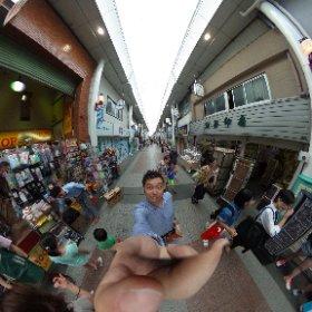 上川端商店街 #theta360