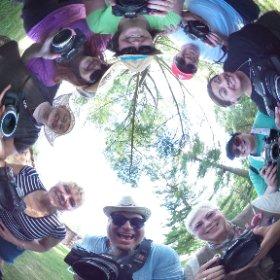 Had a wonderful #Lensbaby walk with the LI Meetup group today.  #SeeInANewWay #theta360