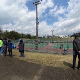 さつきカップ中学校選抜ソフトテニス大会 森山総合公園テニスコート 2018/5/5 その1 #theta360