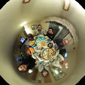 Chinese Hot Pot in Raytown w Uncle Sam and the Lee Family #theta360