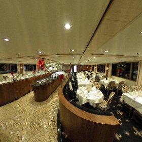 Salle à manger du bateau MS Jane Austen