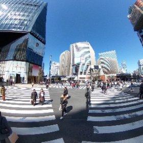 2018数寄屋橋交差点(東京都中央区) #theta360