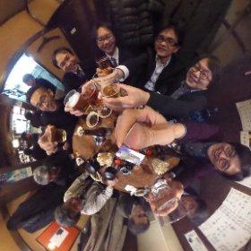 THETA大好きであちこちで愛用させてもらってたら、THETAの開発者の方に出会えちゃったよ!メルシー、シータ! #theta360