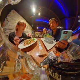 Diner @PapaRich #sakura3d #galway360 #theta360 #theta360uk