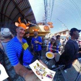 Travel meet locals day trip Bkk to Amphawa Floating Markets, stop at Maeklong train markets, all activities at https://goo.gl/qveMHV Hashtags: #MaeklongRailwayMarkets   #FleaMarkets  #SamutSongkhram  #Firefly3d   #TravelLocalThai