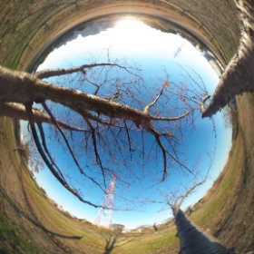 on a blanch #theta360