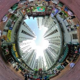 香港仔中心廣場 #theta360