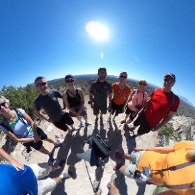 On top of Tent Rock National Monument. #theta360