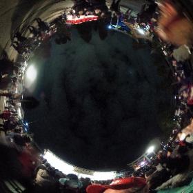 節分の豆まき直前2017福井市和田八幡宮 #theta360