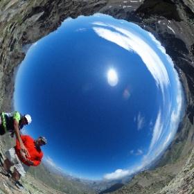Testa del Vallone 2970m  #AlpiMarittime #theta360it