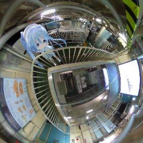 南極観測船ふじのエンジン これでラミングしてるのか。 #miku360 #theta360