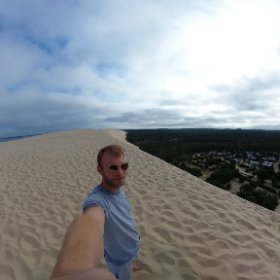 Dune du Pyla (Pilat) 1stJul2020 #theta360 #theta360de