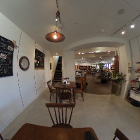 1階カフェ #theta360