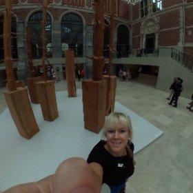 Fijn om Giuseppe Penone weer te zien! #BGL #zomermiddag @Rijksmuseum namens #VanAbbemuseum #SpecialGuests #360 #nieuwspeeltje