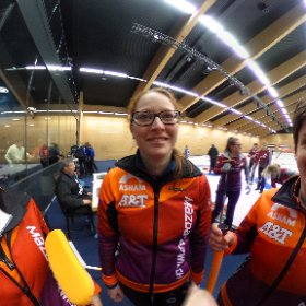 curling schweizermeisterschaft in flims - team uzwil #theta360 #theta360de