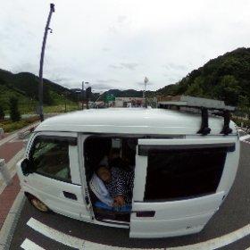新東名静岡サービスエリア! 昼飯はスガキヤのカップラーメン! ウヒヒ
