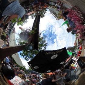 Der Eröffnungstag beim Katharinenmarkt in Delbrück #theta360 #theta360de