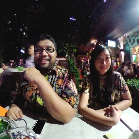 ACYPL-YSEALI Profellows chapter Jakarta (plus a Malaysian) 😜 #theta360