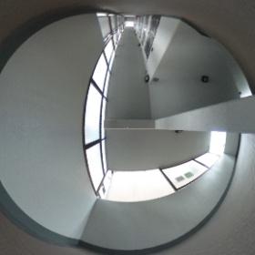 チサトハイツ3 三階廊下